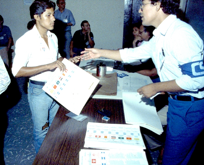 Receiving the ballot